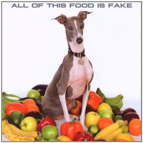 Album cover parody of Excellent Italian Greyhound by Shellac