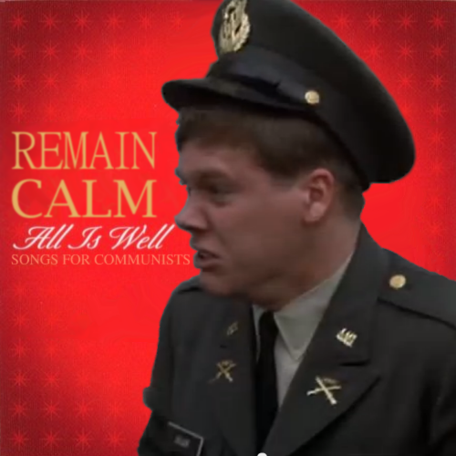 Album cover parody of All Is Well - Songs For Christmas by Clay Aiken