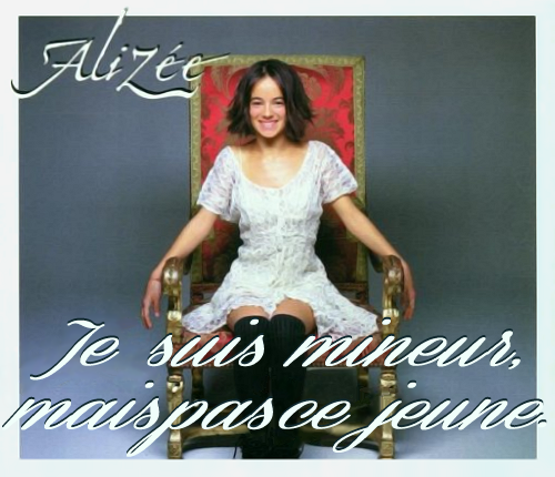 Album cover parody of Moi Lolita by Alizee