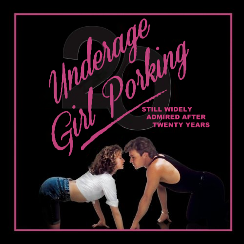 Album cover parody of Dirty Dancing: 20th Anniversary Edition by Various