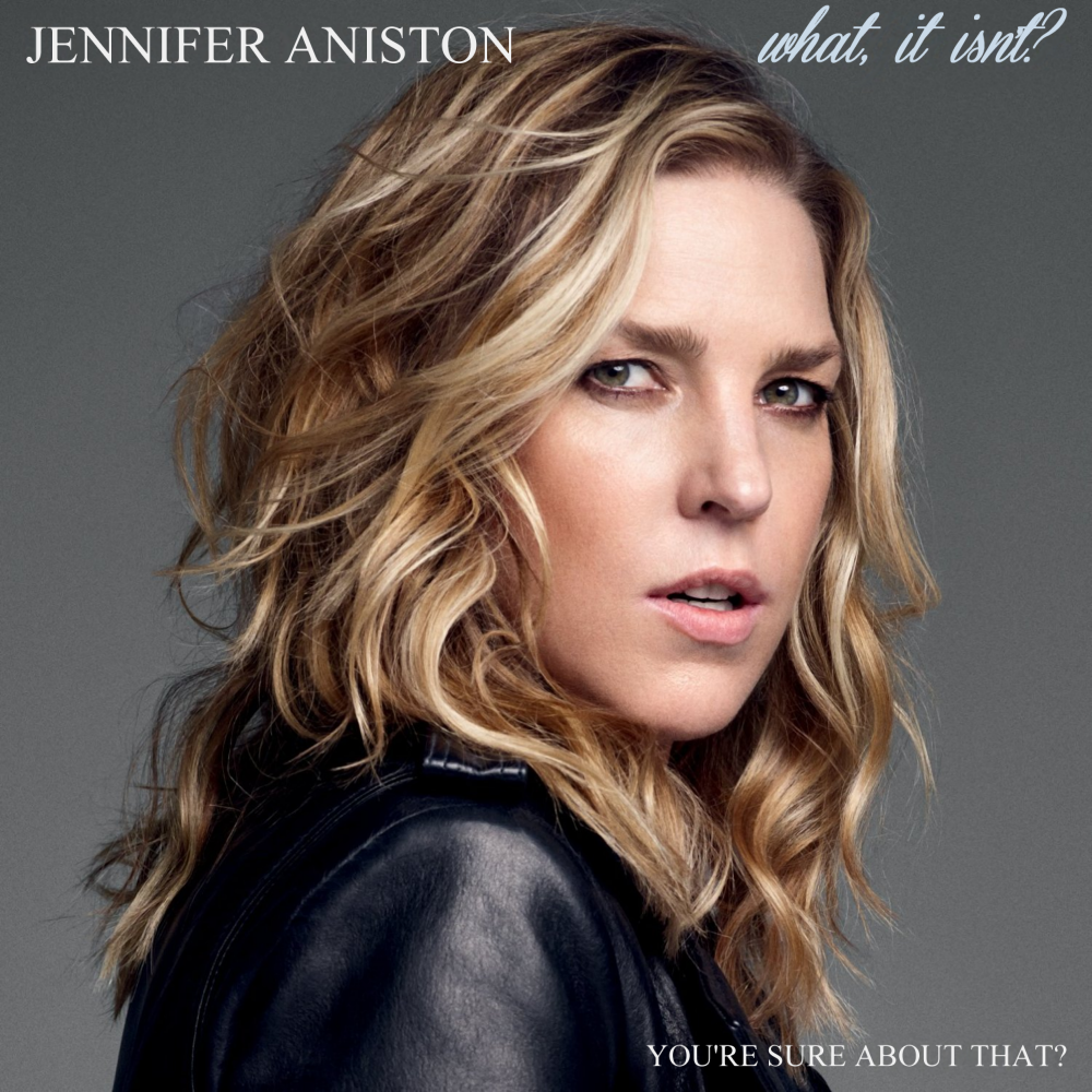 Album cover parody of Wallflower (Amazon Deluxe Exclusive) by Diana Krall