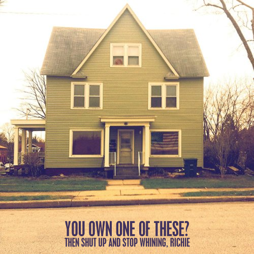Album cover parody of Everyone That Dragged You Here by Real Friends