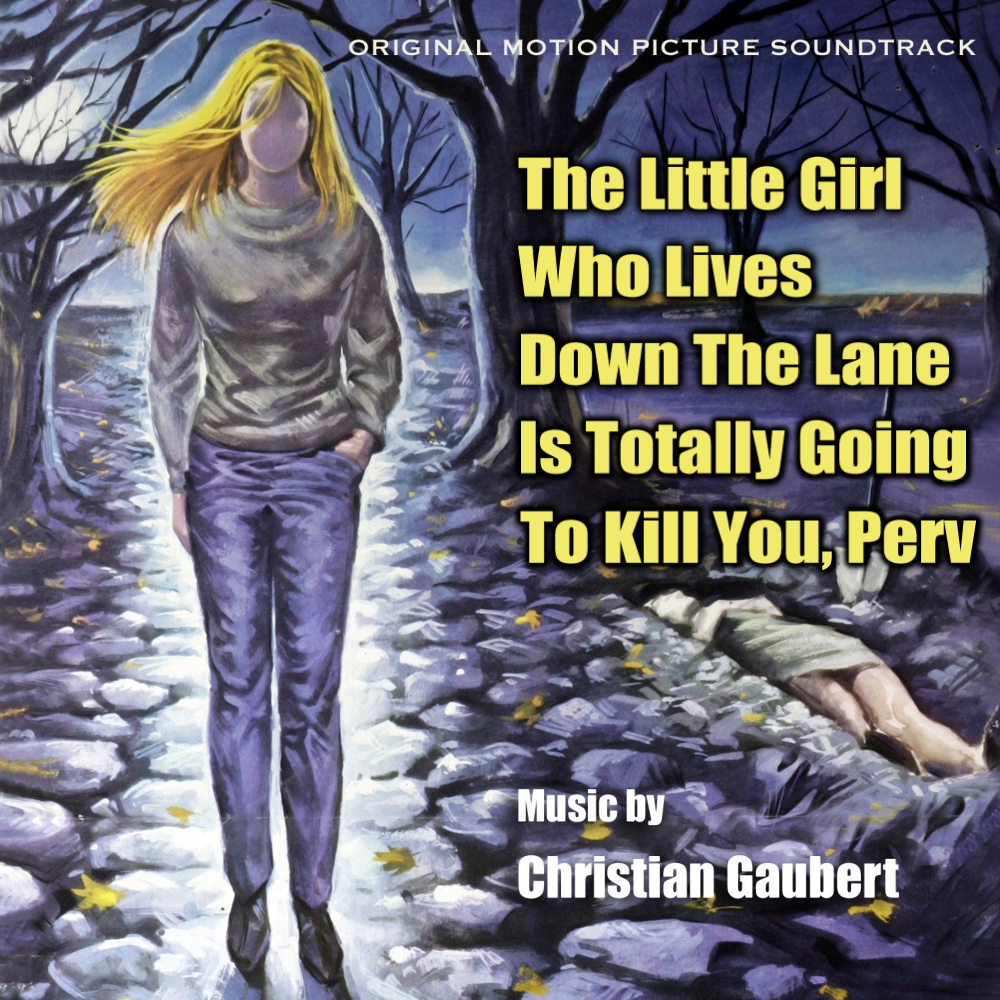 Album cover parody of The Little Girl Who Lives Down the Lane, limited-edition CD by Christian Gaubert