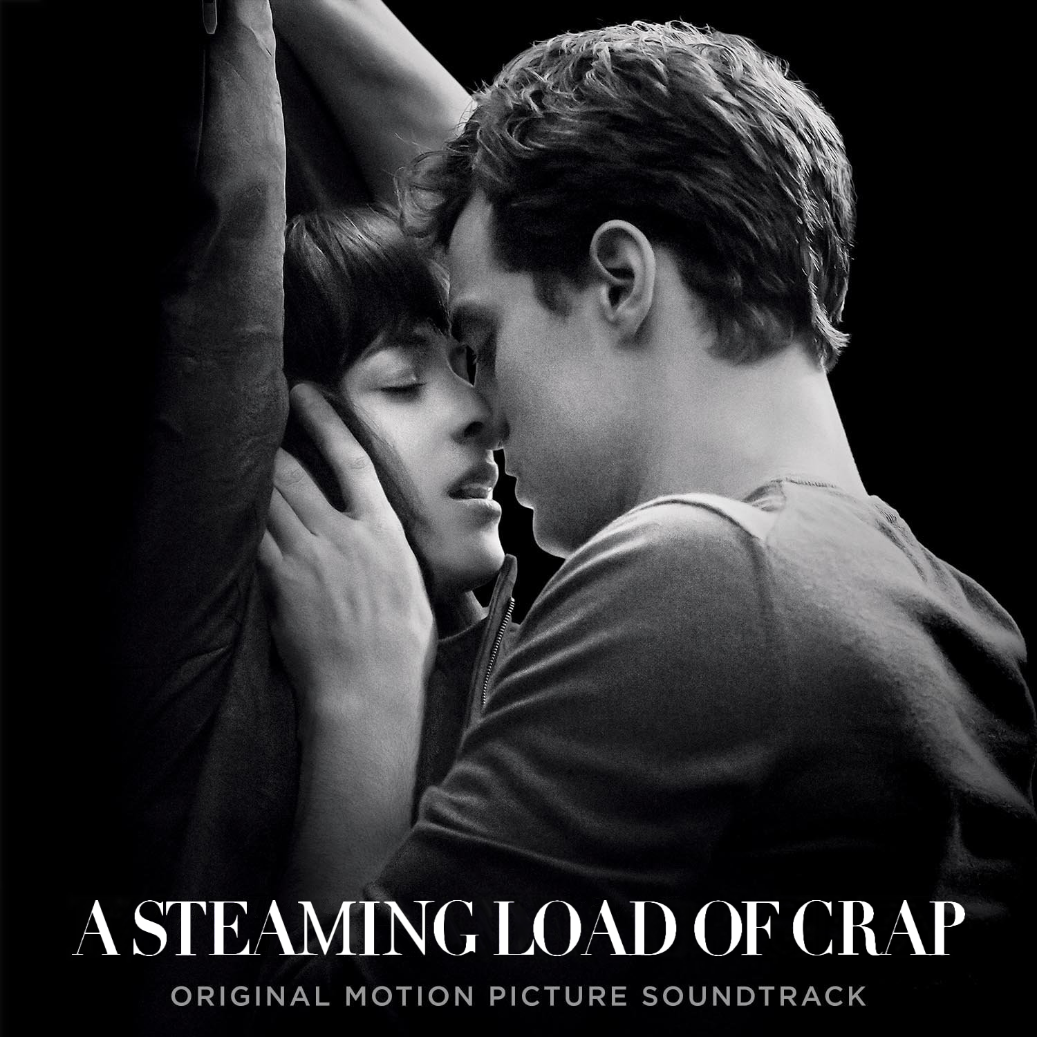 Album cover parody of Fifty Shades Of Grey (Original Motion Picture Soundtrack) by Various Artists
