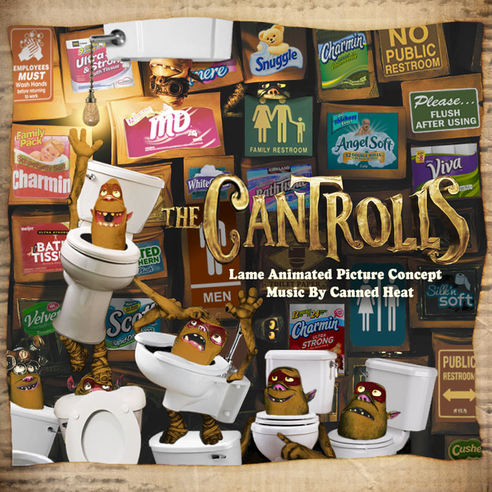 Album cover parody of Boxtrolls - O.S.T. by Original Motion PIcture Soundtrack
