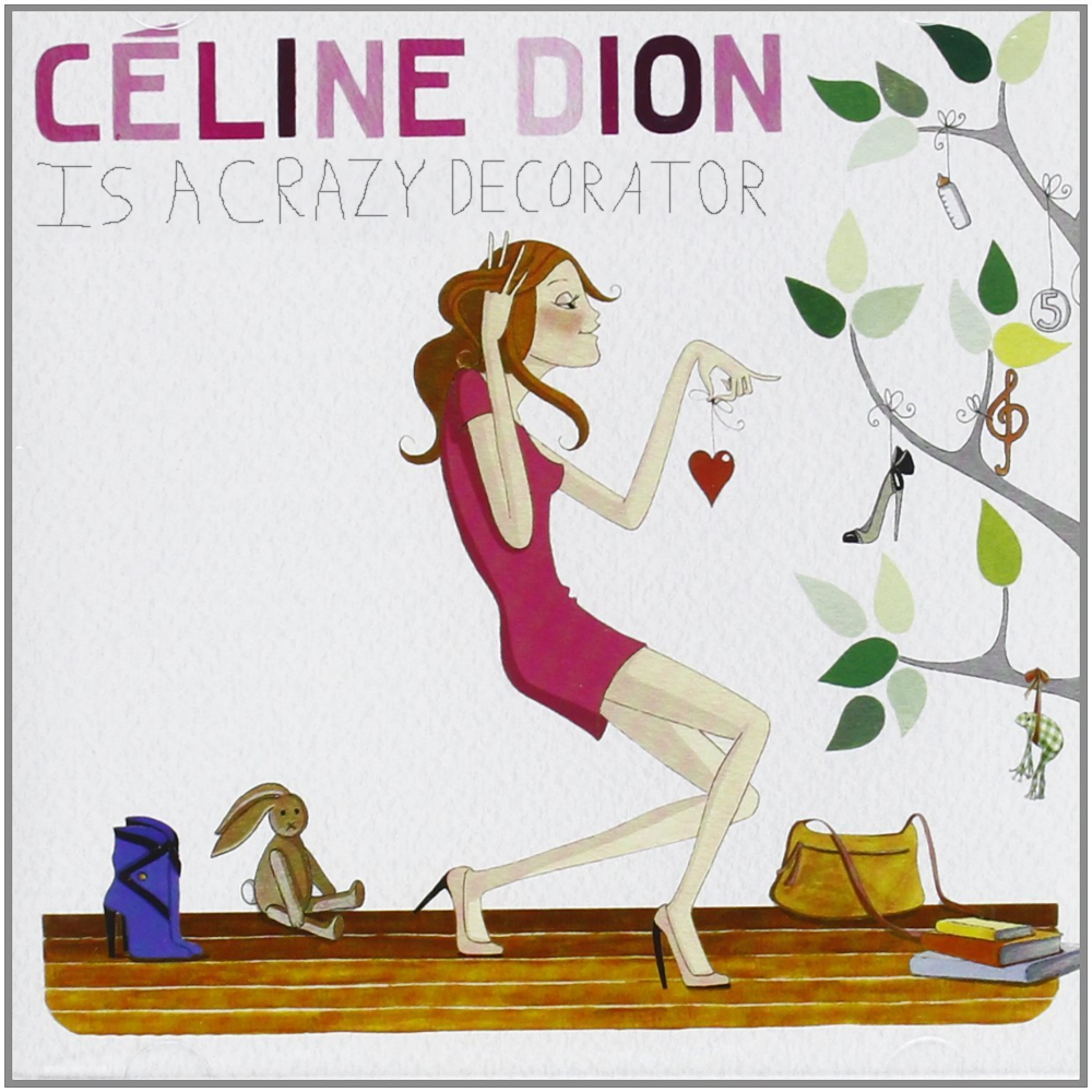 Album cover parody of Sans Attendre by CELINE DION