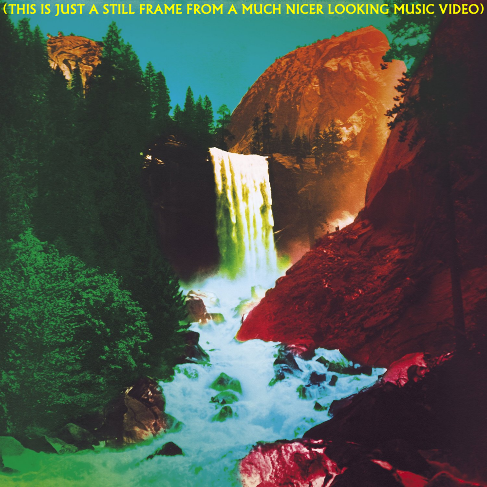 Album cover parody of The Waterfall (Deluxe) by My Morning Jacket