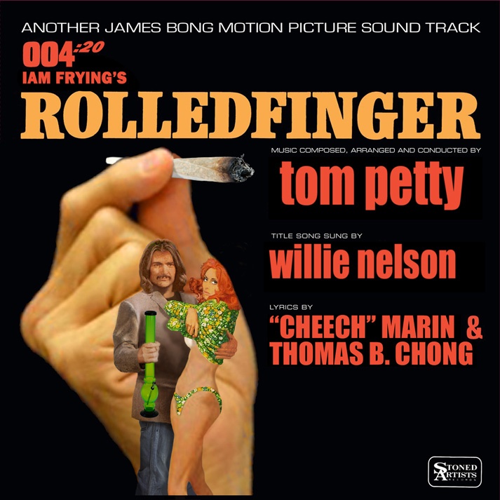 Album cover parody of Goldfinger (Original Motion Picture Soundtrack) by James Bond - OST
