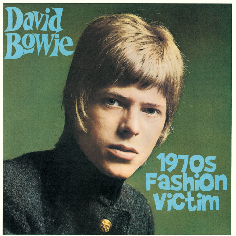 Album cover parody of David Bowie by David Bowie