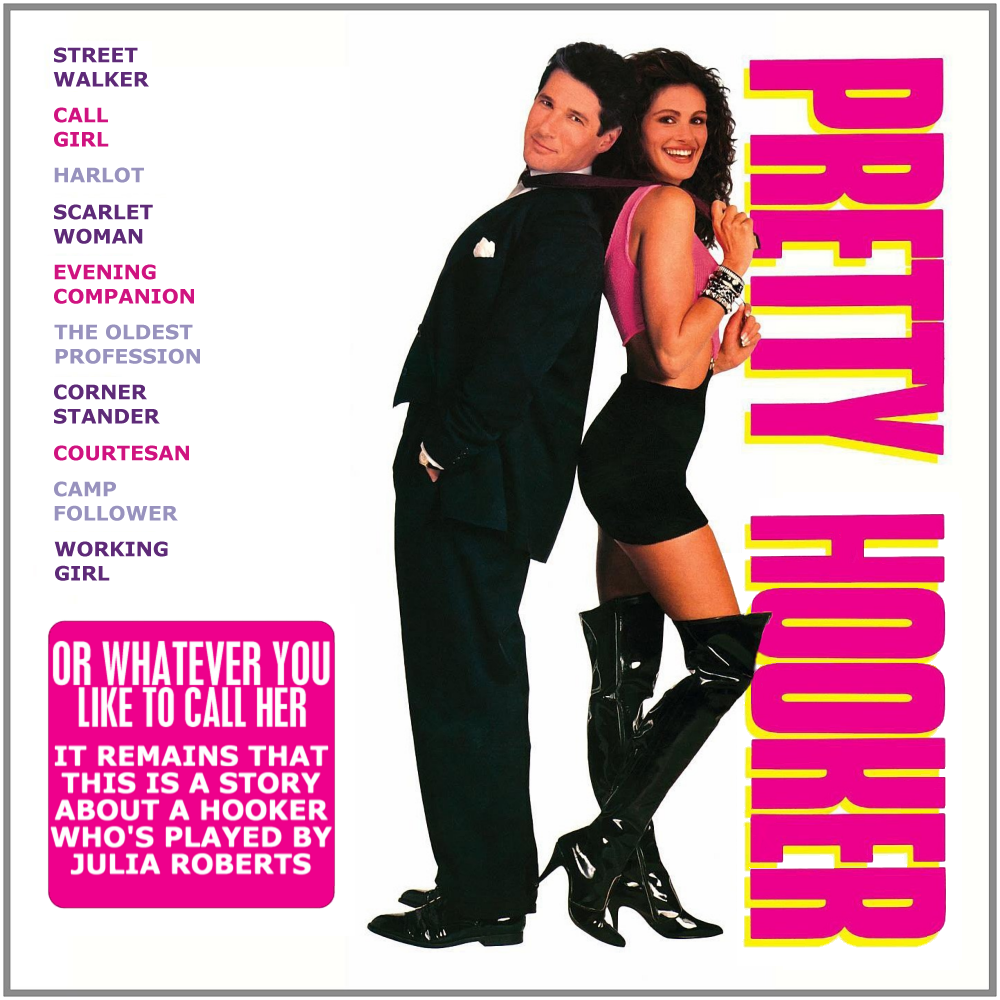 Album cover parody of Pretty Woman by Musical
