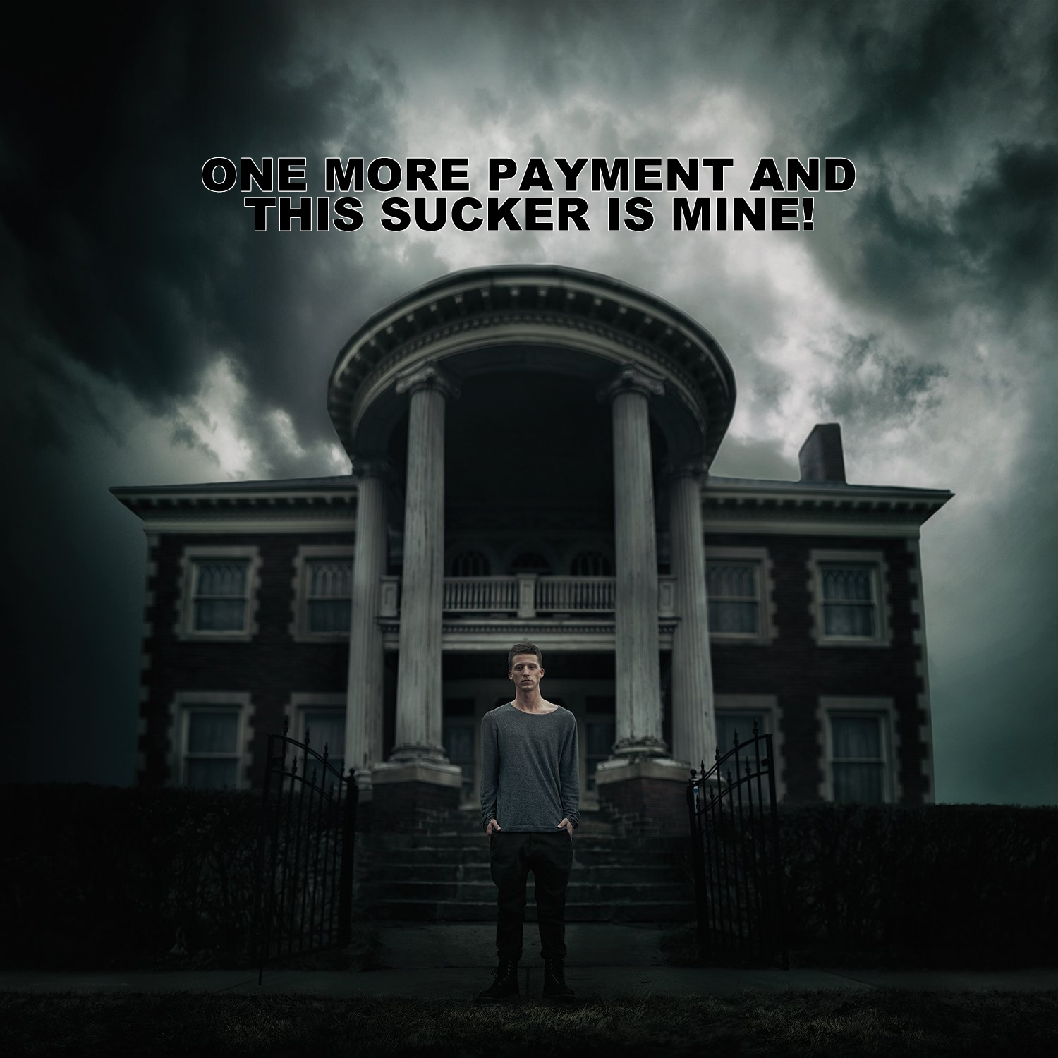 Album cover parody of Mansion by NF