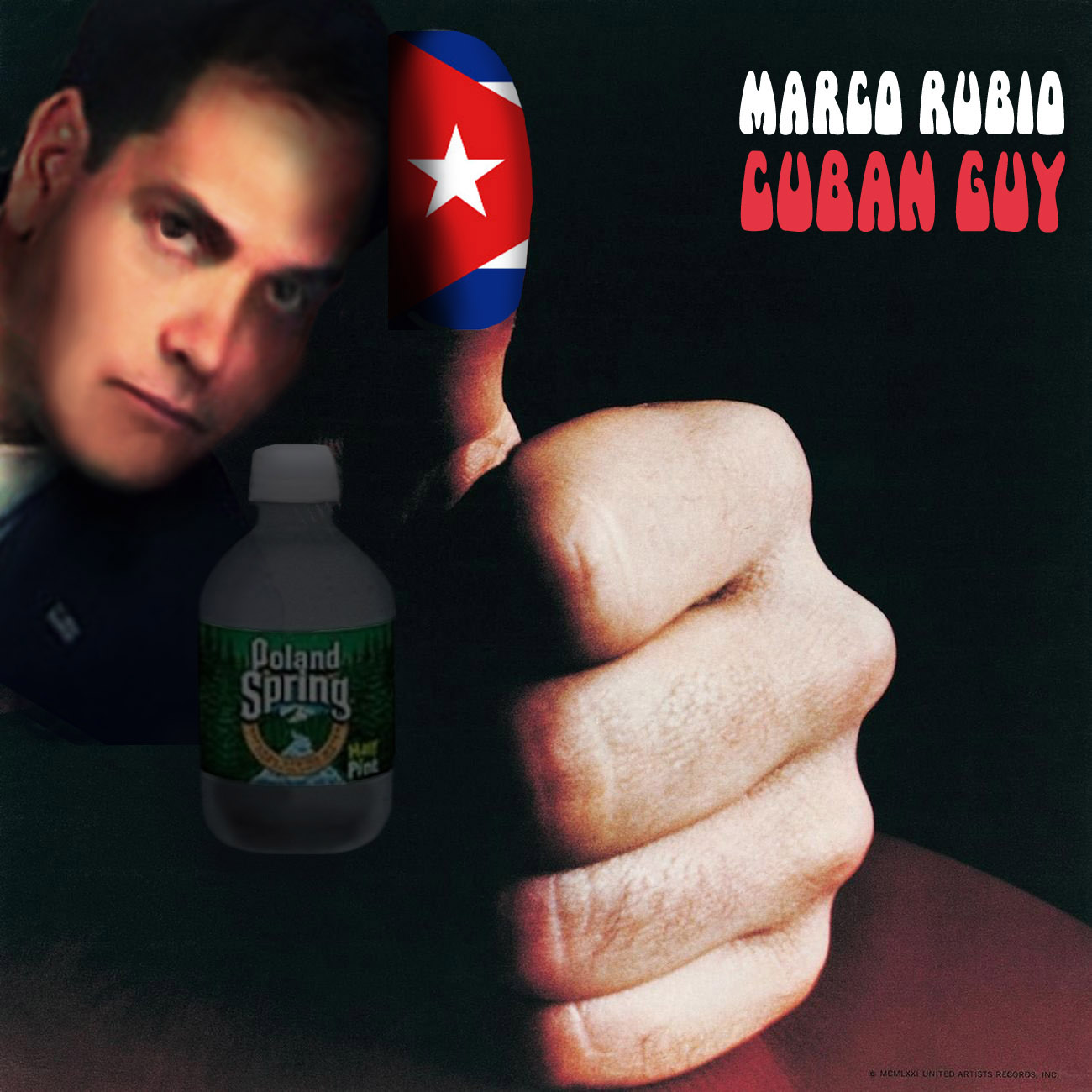 Album cover parody of American Pie by DON MCLEAN