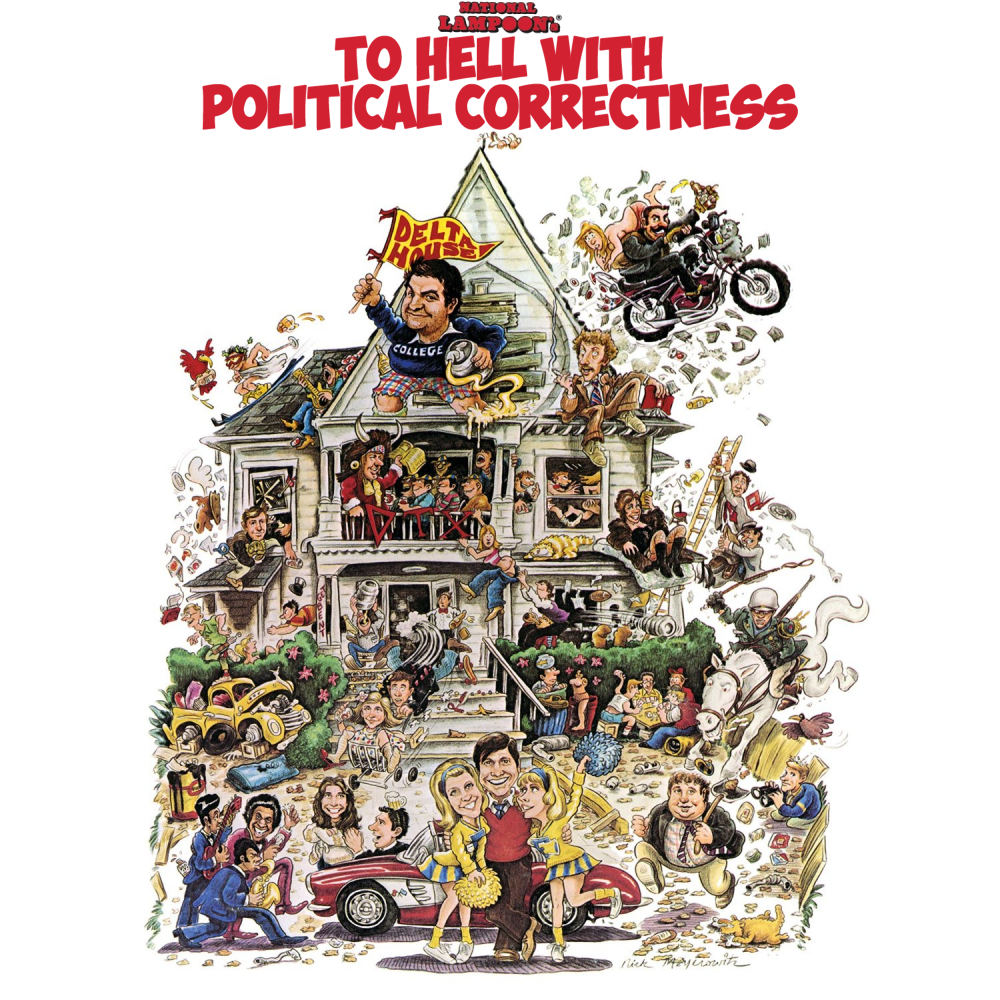 Album cover parody of National Lampoons Animal House (LP) by Various Artists