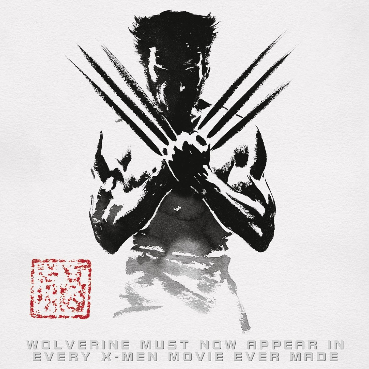 Album cover parody of The Wolverine by Marco Beltrami