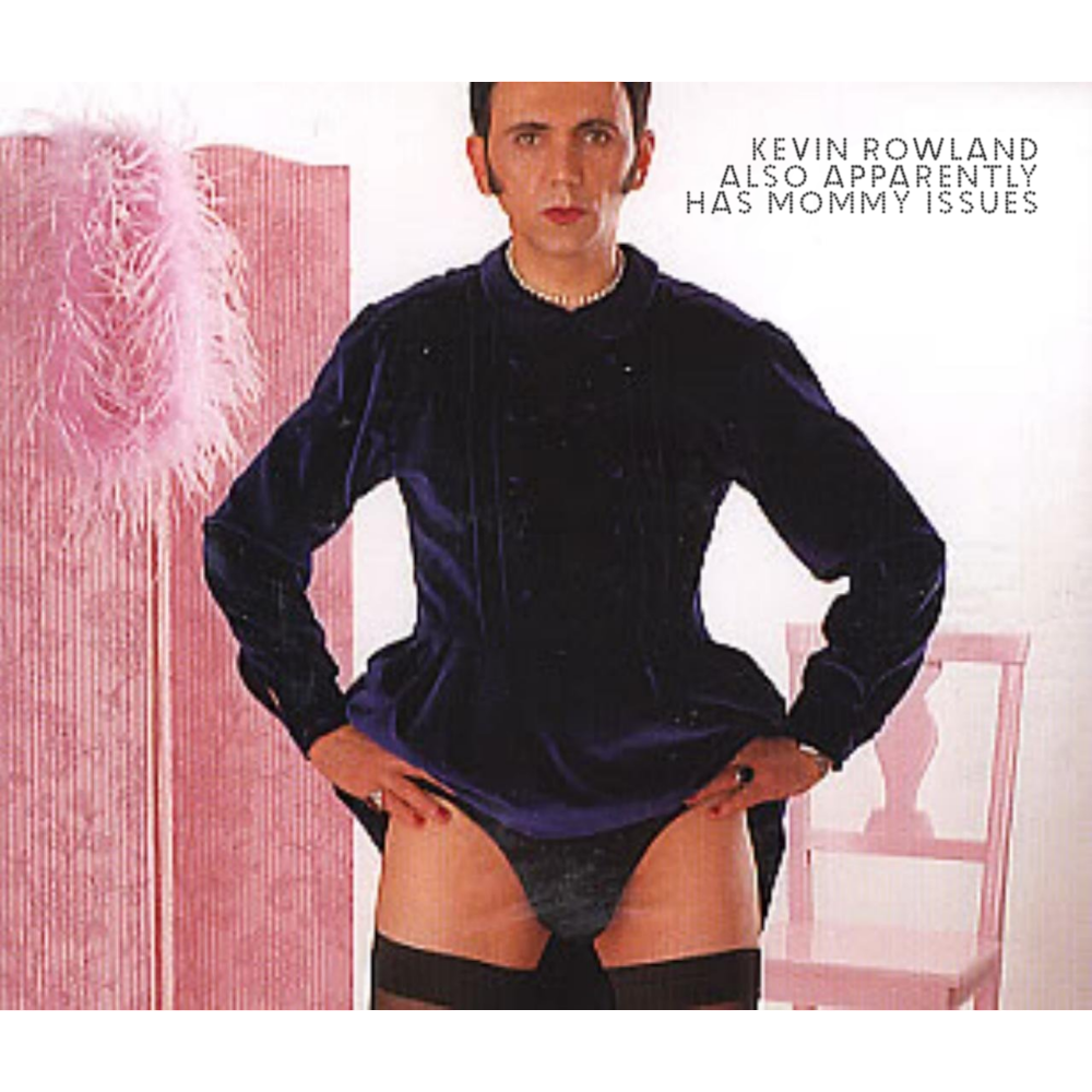 Album cover parody of Concrete And Clay by Kevin Rowland