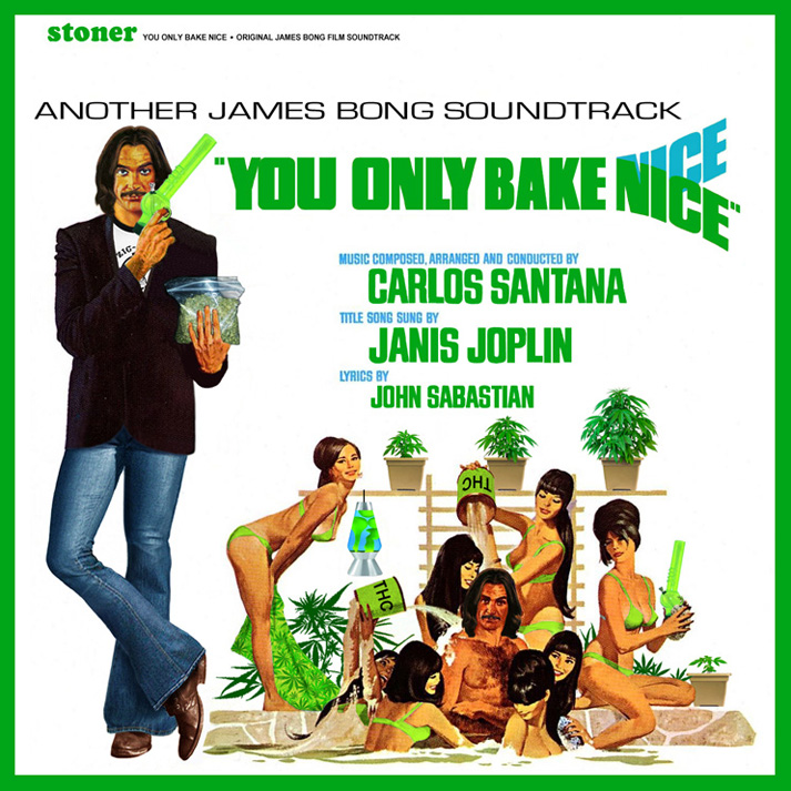 Album cover parody of You Only Live Twice (Original Motion Picture Soundtrack) by James Bond - OST