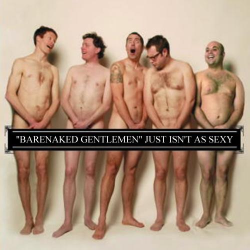 Album cover parody of Au Naturale Live by Barenaked Ladies (Author)
