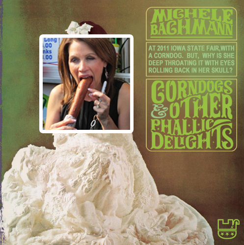 Album cover parody of Whipped Cream & Other Delights by Herb Alpert & The Tijuana Brass [2005] by Herb Alpert