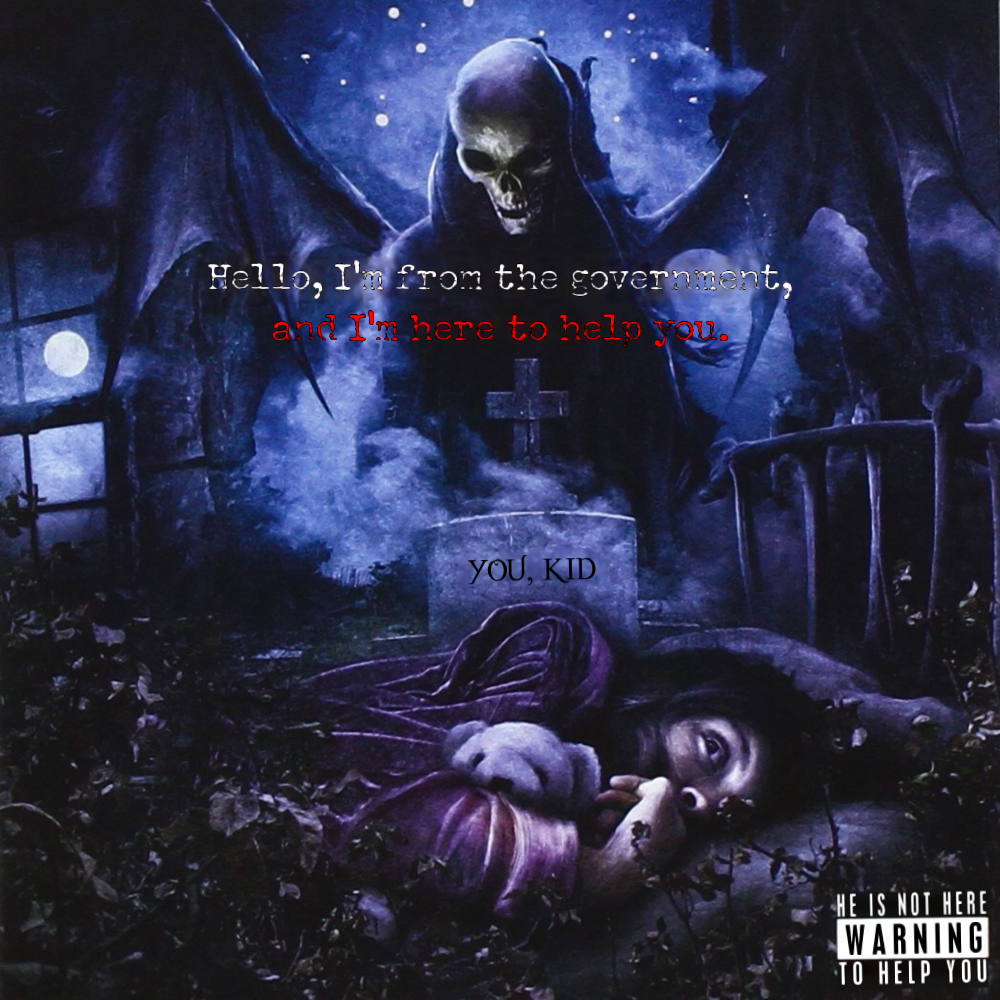 Album cover parody of Nightmare by Avenged Sevenfold