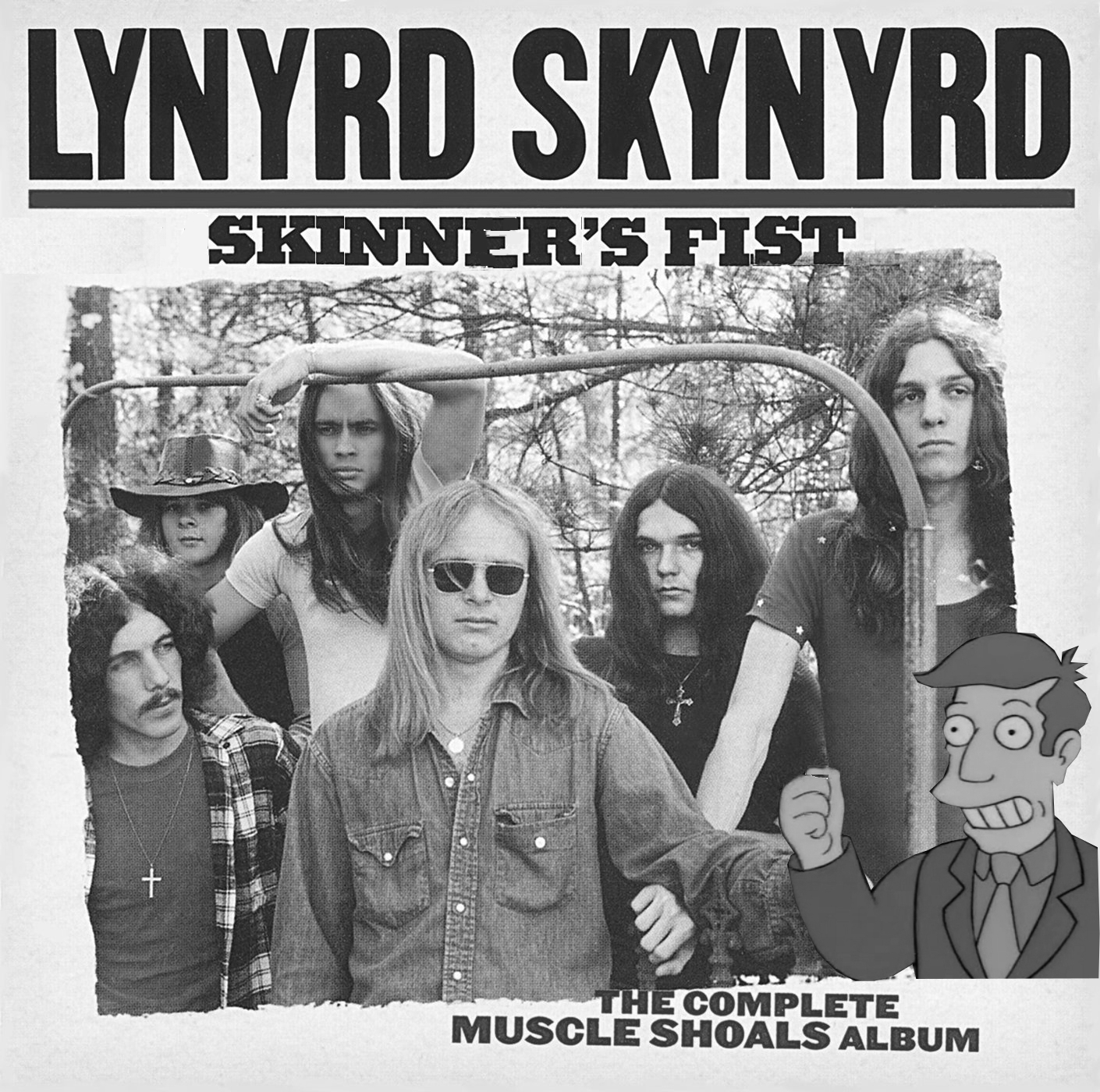 Album cover parody of Skynyrd's First And... Last - Sleeve Not Mint by Lynyrd Skynyrd