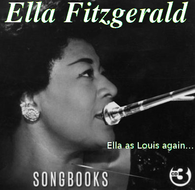 Album cover parody of Ella and Louis Again by Ella Fitzgerald & Louis Armstrong