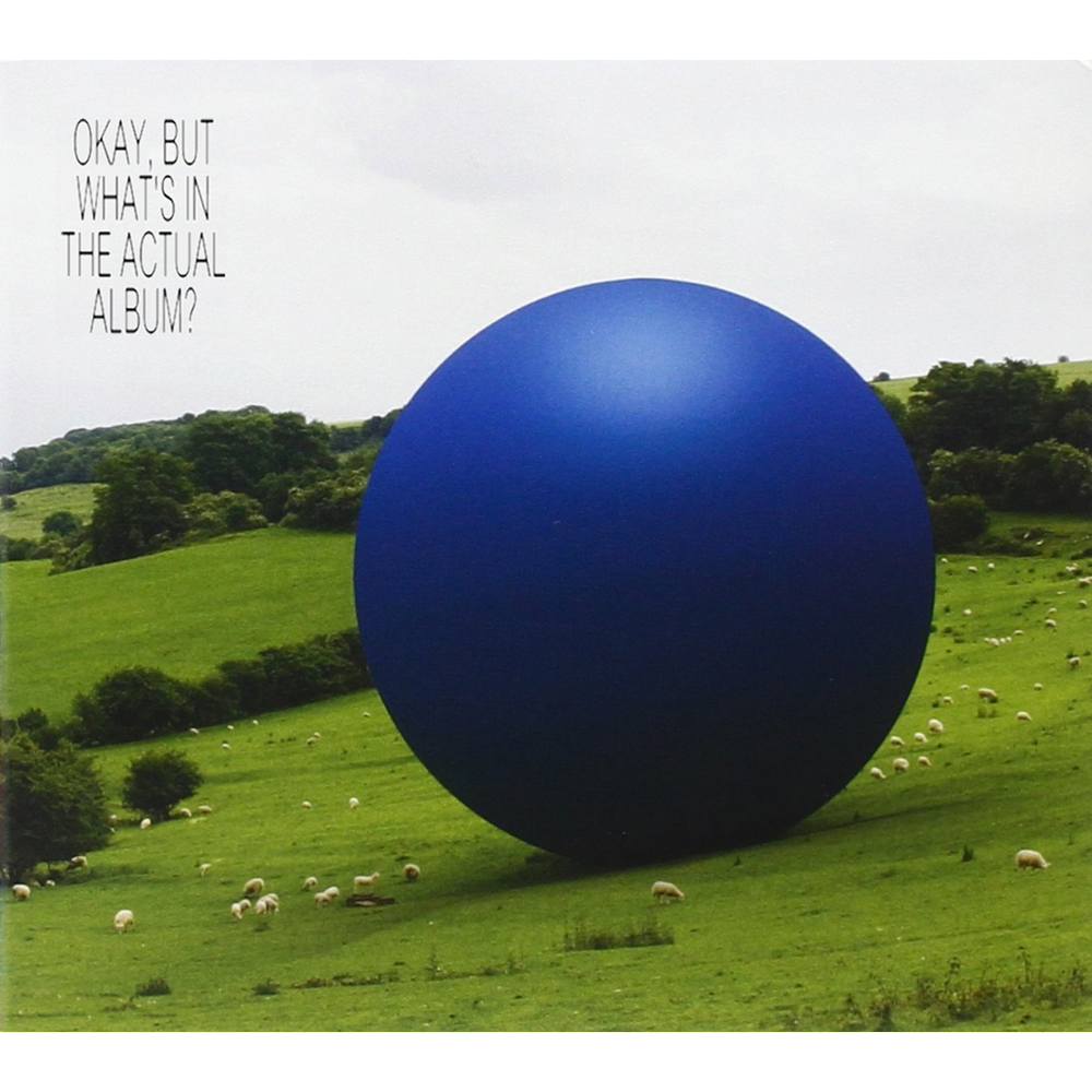 Album cover parody of Big Blue Ball by Peter Gabriel