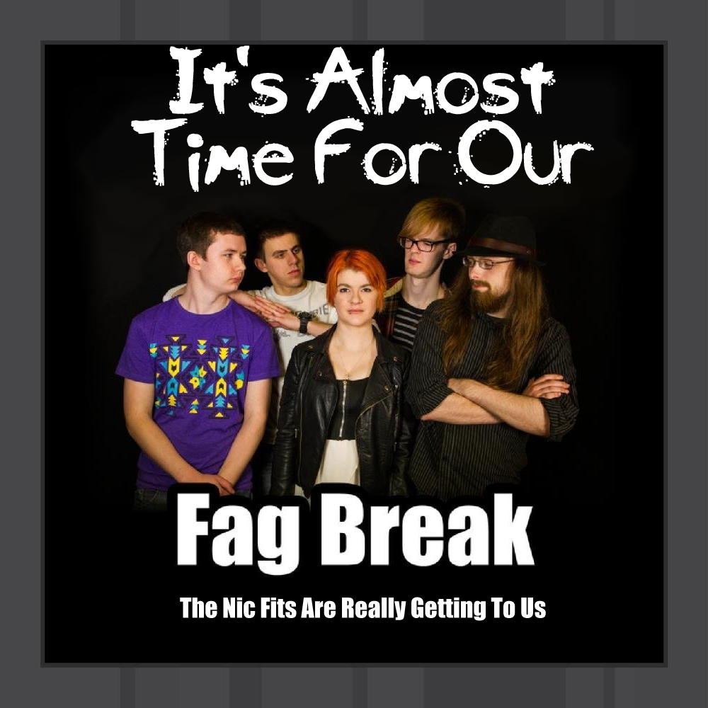 Album cover parody of Fag Break by SubTotal