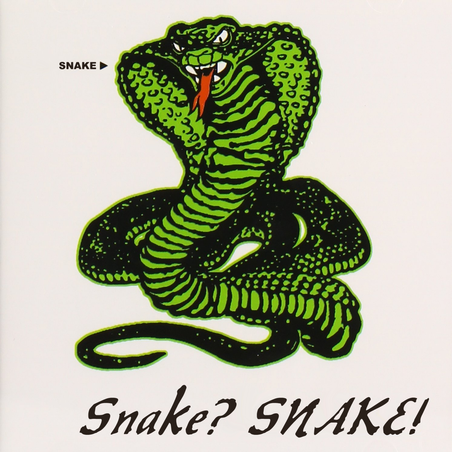 Album cover parody of Snakes by SNAKES
