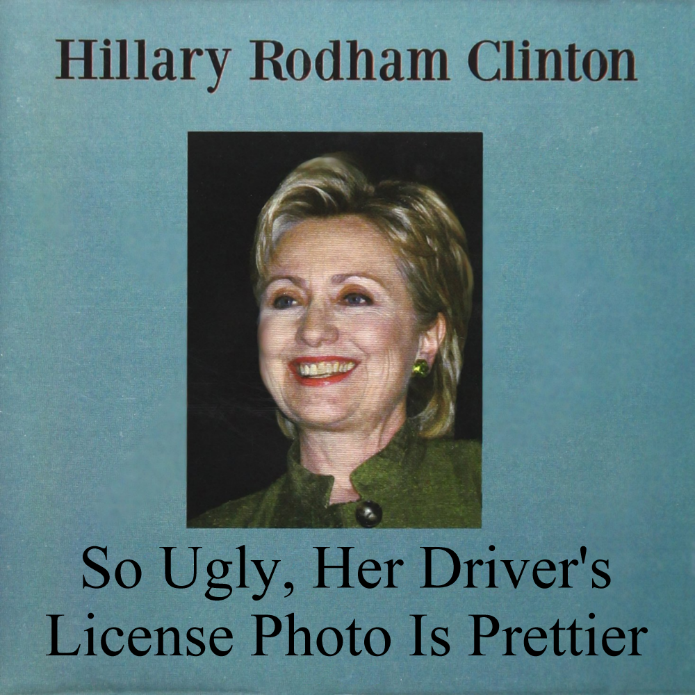 Album cover parody of Secretary of State by Hillary Rodham Clinton