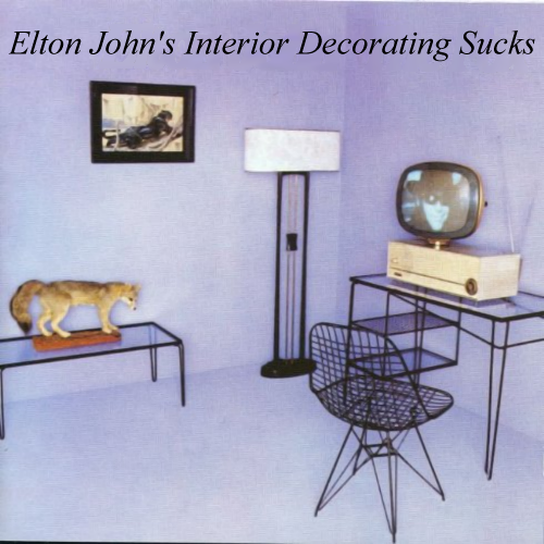 Album cover parody of THE FOX by Elton John