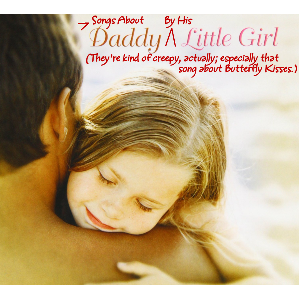 Album cover parody of Daddys Little Girl by Amanda Faith