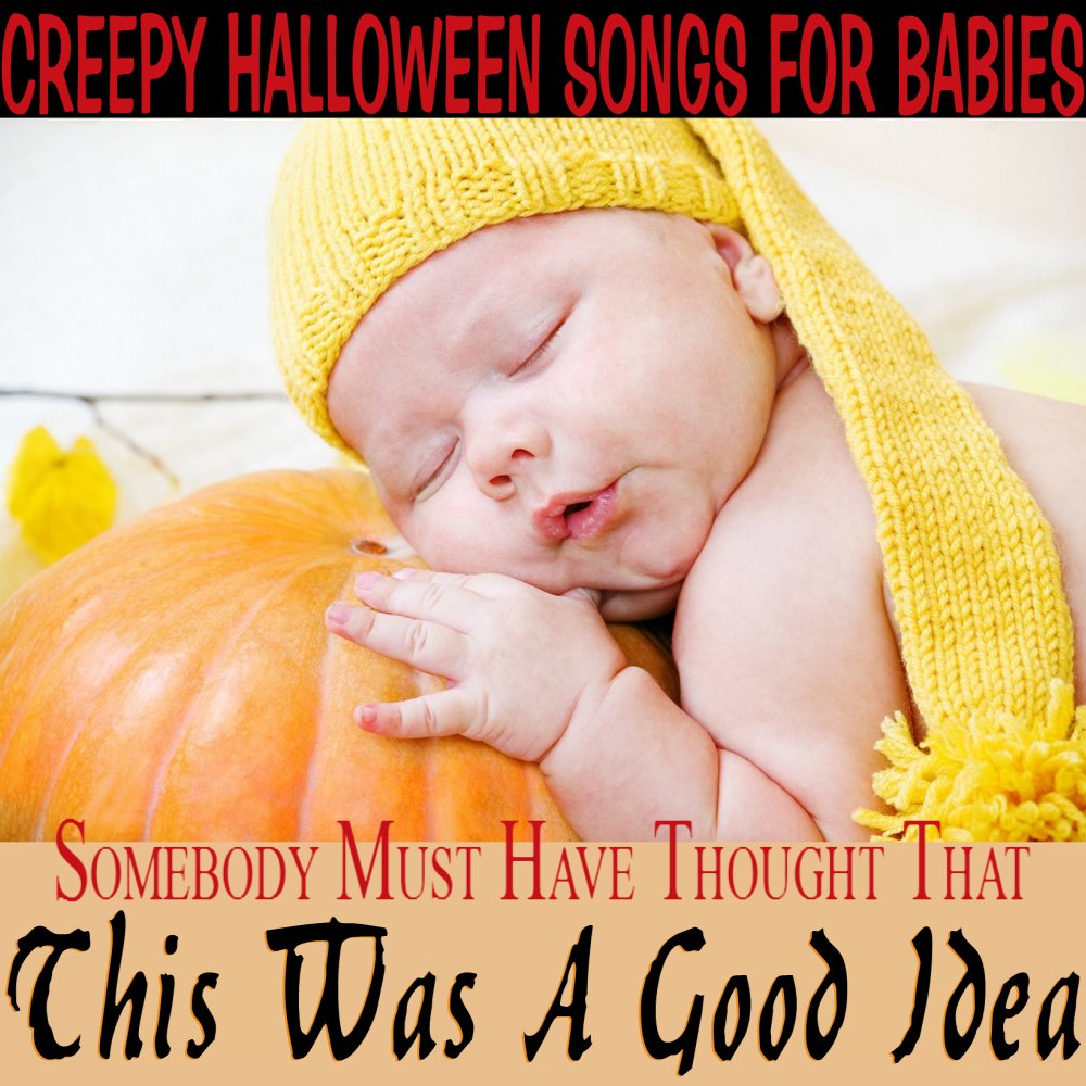 Album cover parody of Lullaby Renditions Of The Nightmare Before Christmas by Baby Rockstar