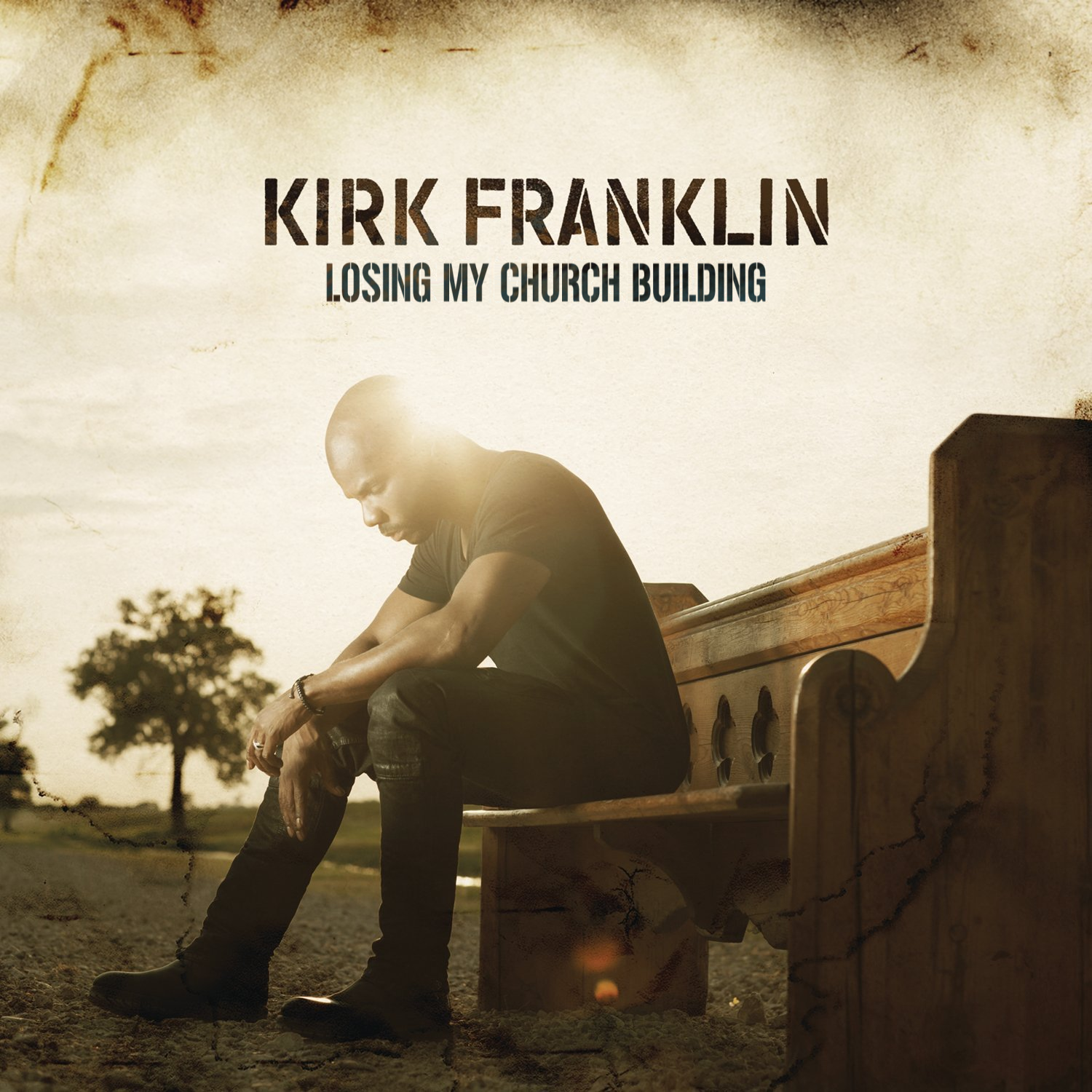 Album cover parody of Losing My Religion by Kirk Franklin