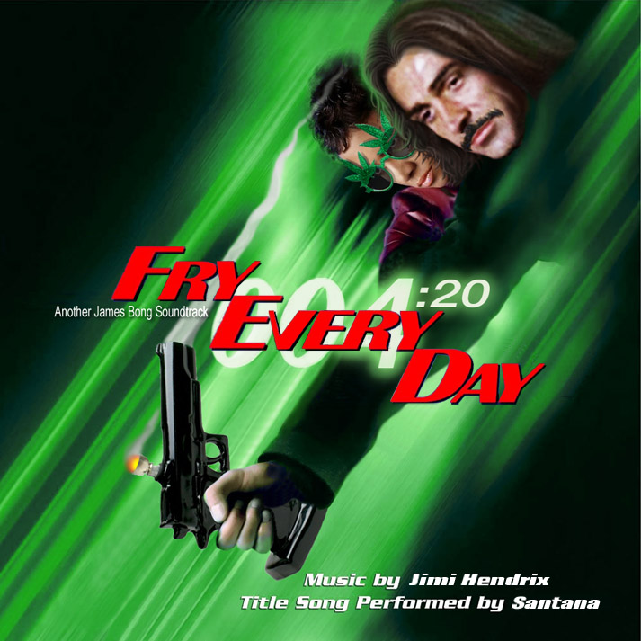 Album cover parody of Die Another Day: Music From The Motion Picture (Enhanced) by James Bond - OST