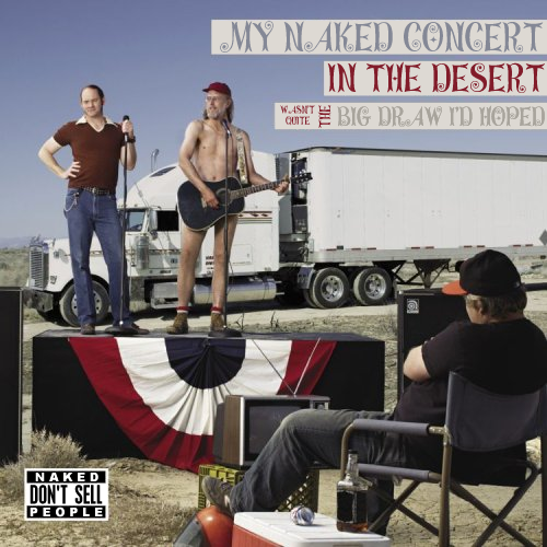 Album cover parody of Live at the Troubadour by The Naked Trucker and T-Bones