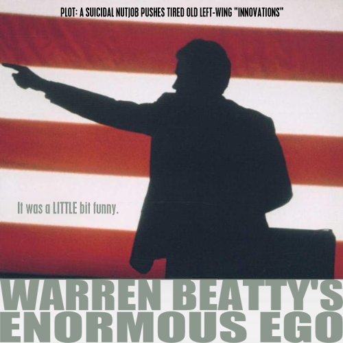 Album cover parody of Bulworth: Original Score Soundtrack by Ennio Morricone