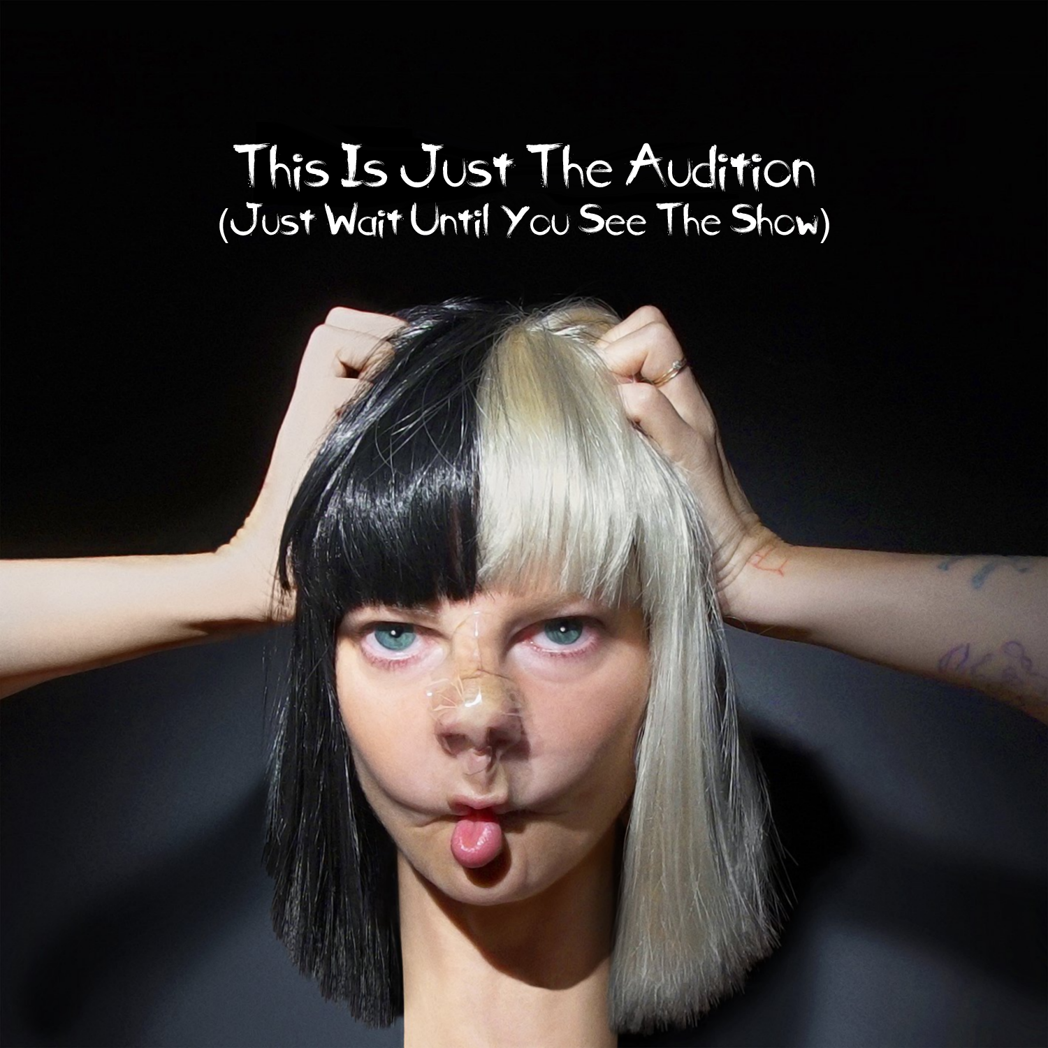Album cover parody of This Is Acting by Sia