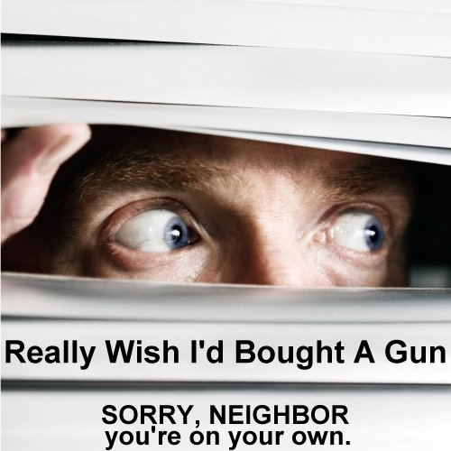 Album cover parody of Next-Door Neighbor Blues by Dean Rathje
