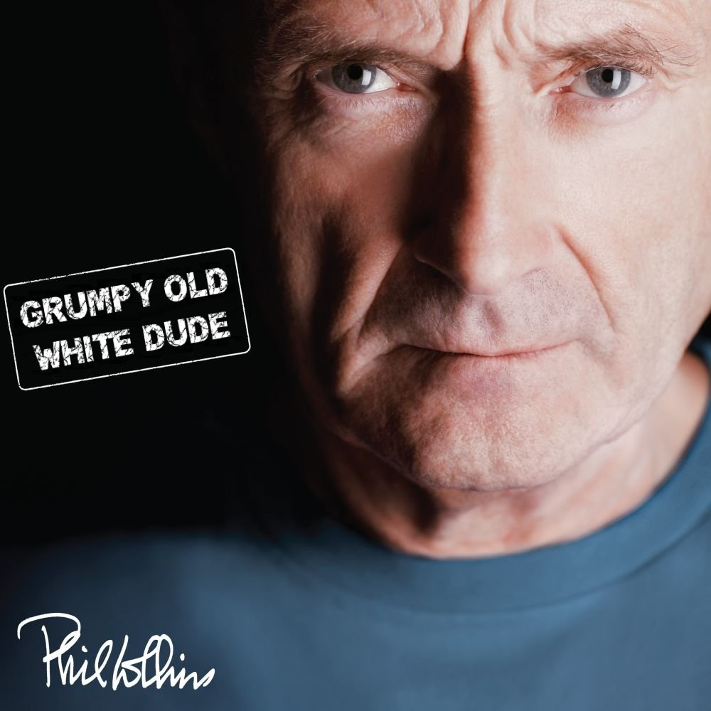 Album cover parody of Testify (Deluxe Edition) (2CD) by Phil Collins