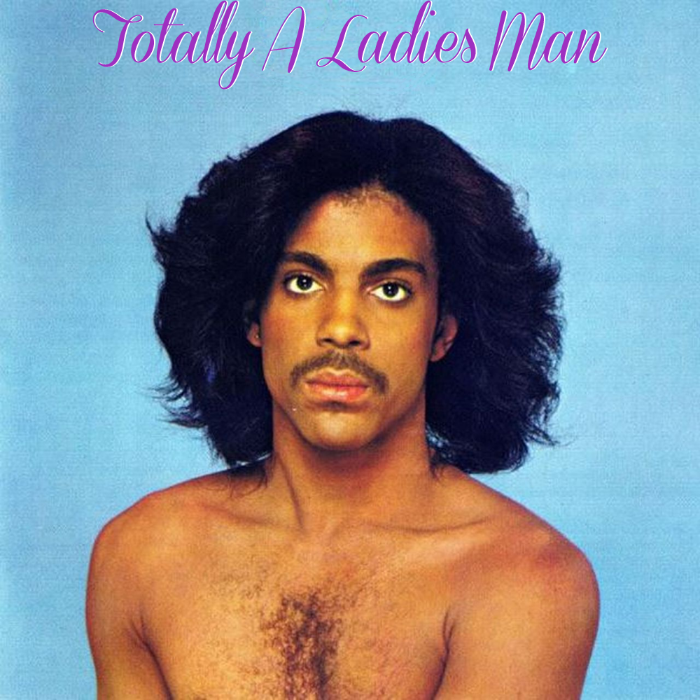 Album cover parody of Prince by Prince