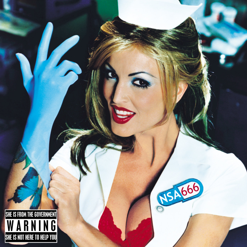 Album cover parody of Enema Of The State (Explicit Version) by Blink 182