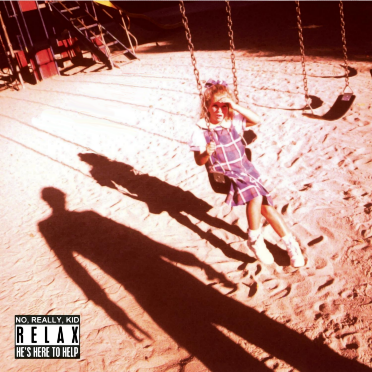 Album cover parody of Korn by Korn
