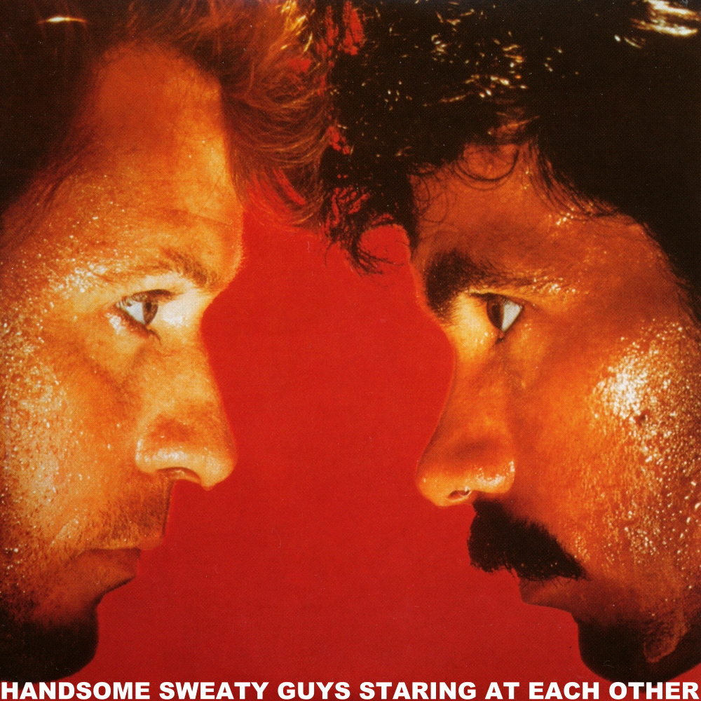Album cover parody of H20 by Daryl Hall and John Oates
