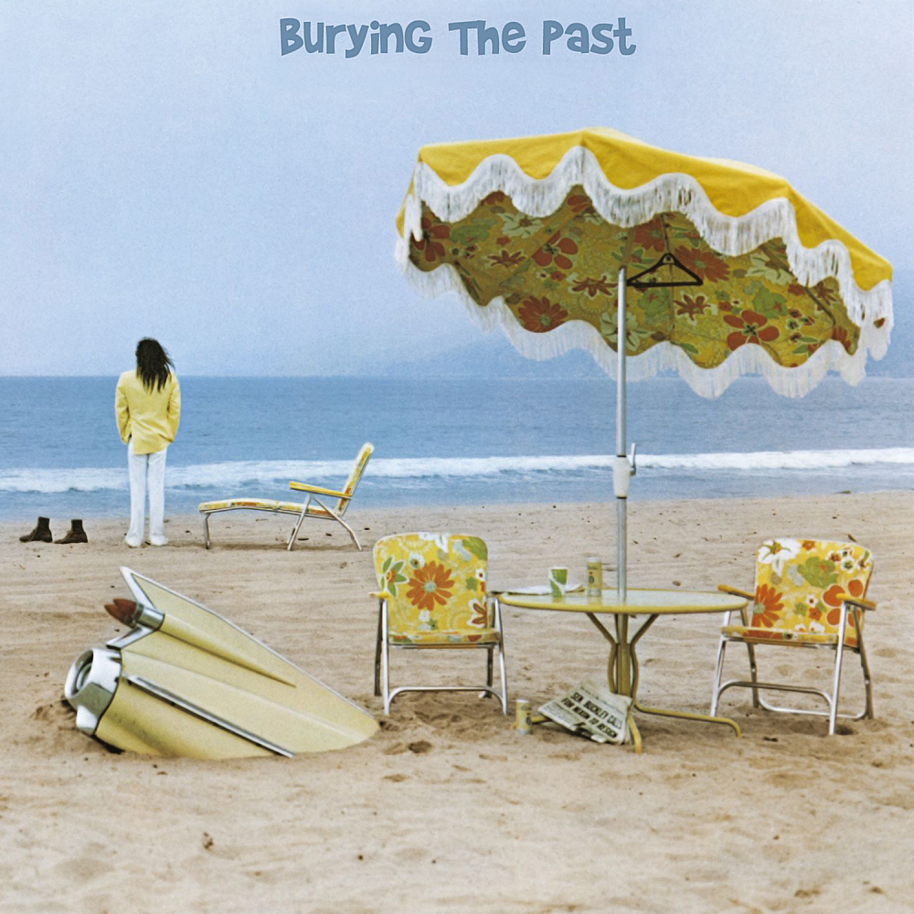 Album cover parody of Neil Young - On The Beach [Japan LTD CD] WPCR-78089 by Neil Young