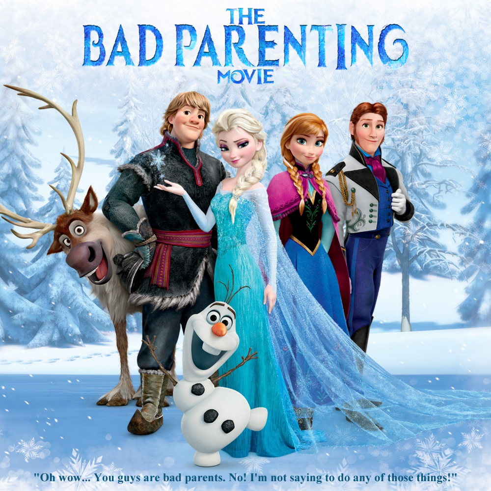 Album cover parody of Frozen: The Songs by Various