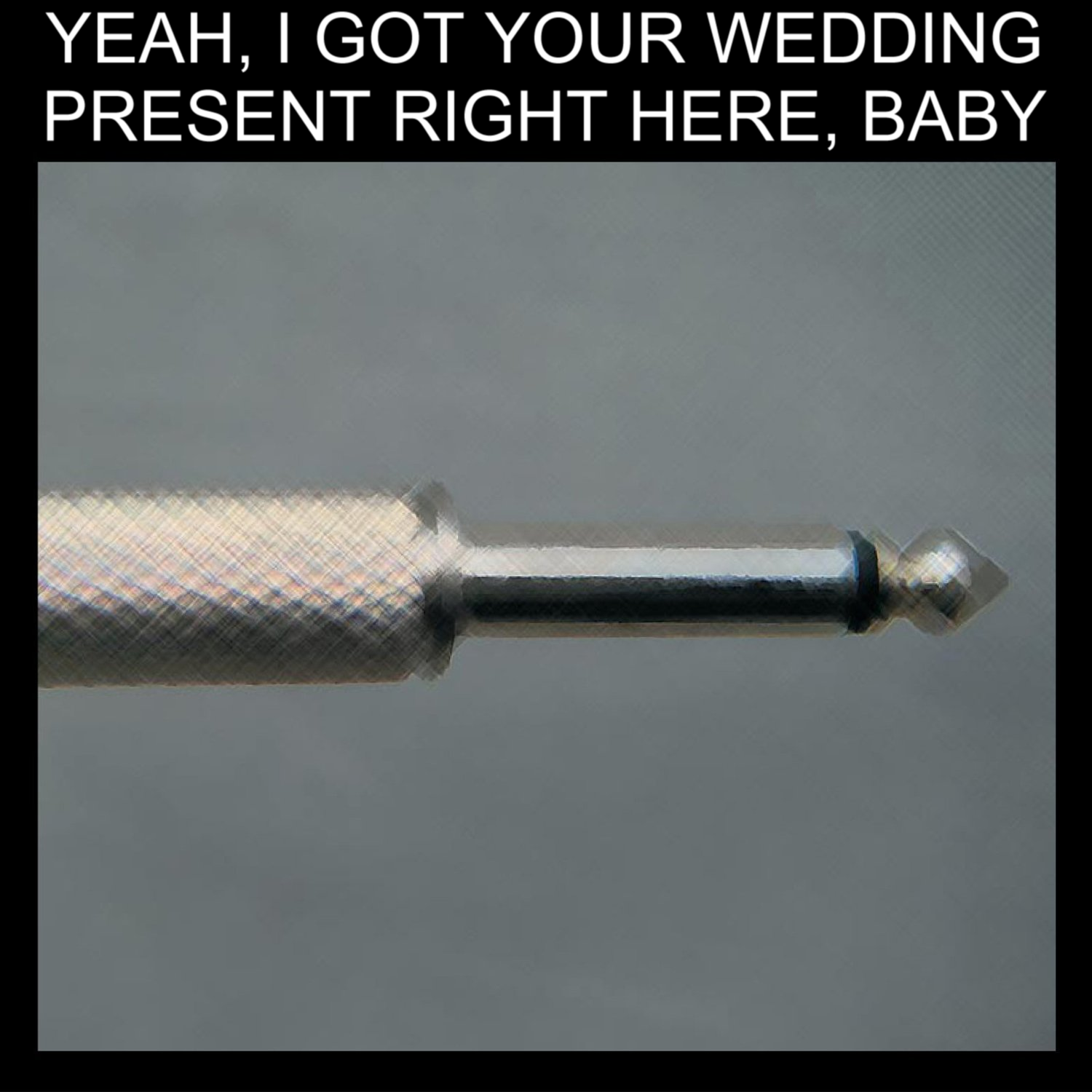 Album cover parody of Plugged In: An Evening At Shepherds Bush by Wedding Present
