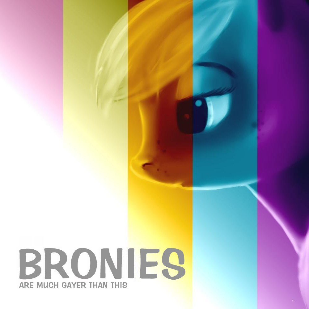 Album cover parody of Brony by M Pallante