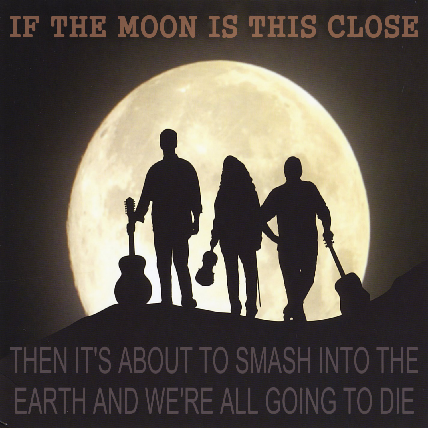 Album cover parody of Full Moon by Jericho Ditch