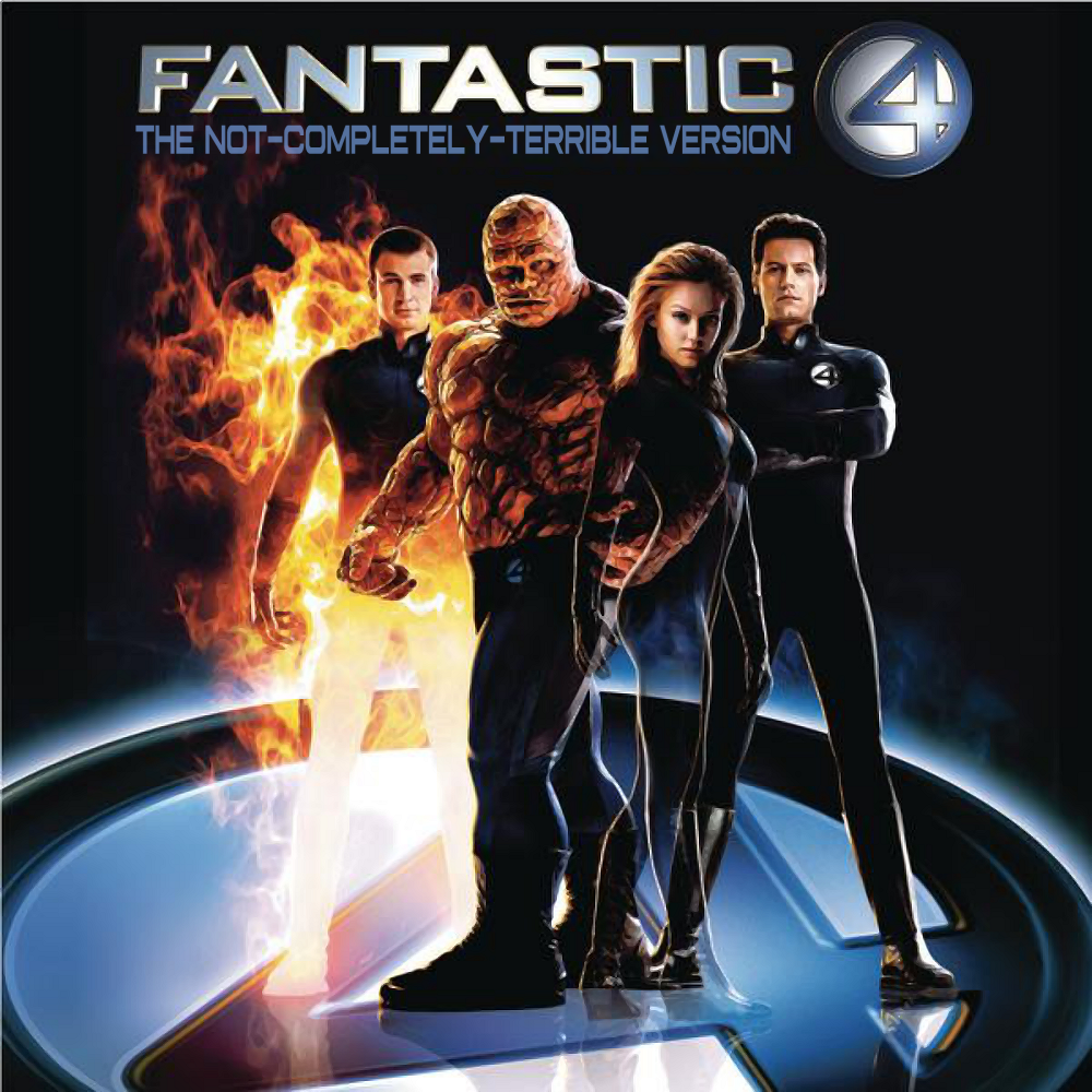 Album cover parody of Fantastic Four - The Album by Various Artists