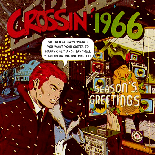 Album cover parody of Cruisin' 1966 by Cruisin'